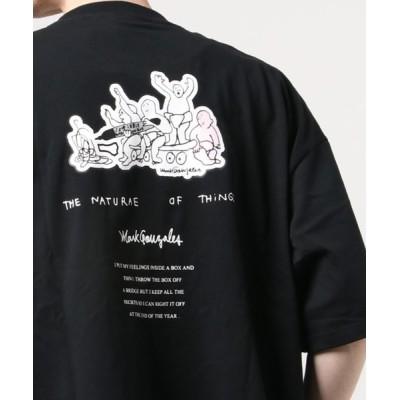 tシャツ Tシャツ MARK GONZALES/マークゴンザレス 刺繍ポケットBIG TEE