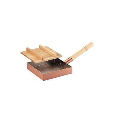 アサヒ 食楽工房 本職用玉子焼き 18cm(木蓋付) CNE117並行輸入