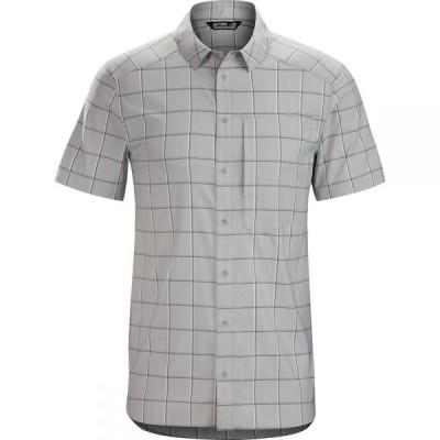 アークテリクス Arc'teryx メンズ 半袖シャツ トップス Riel Short - Sleeve Button - Up Shirt Fibreglass