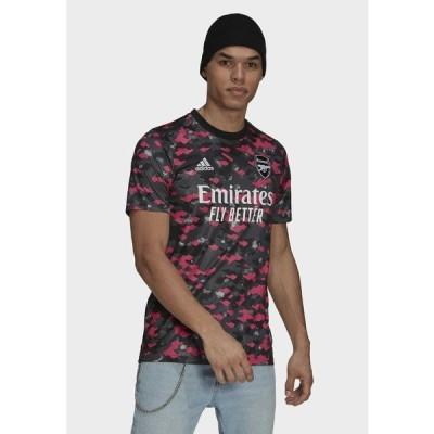 アディダス シャツ メンズ トップス Sports shirt - pink/dgh solid grey/black