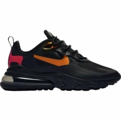 ナイキ メンズ エアマックス270 Nike Air Max 270 React スニーカー Black/Magma Orange/University Red