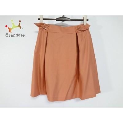 エストネーション ESTNATION スカート サイズ36 S レディース 美品 オレンジ                 スペシャル特価 20191029
