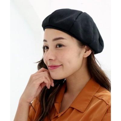 帽子 □ ∴リネン風ベレー帽