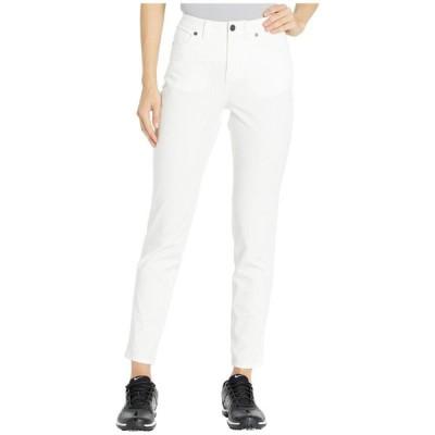 ナイキ Nike Golf レディース ジーンズ・デニム ボトムス・パンツ fairway jean pants slim White/White