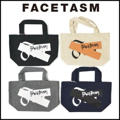 FACETASM ファセッタズム TAPE CANVAS BAG テープ キャンバス トートバッグ 小さめ メンズ レディース おしゃれ スモールサイズ 無地 コットン