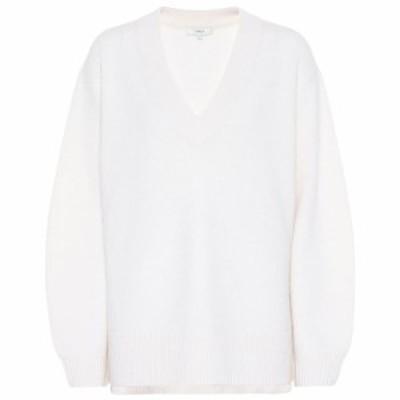 ヴィンス Vince レディース ニット・セーター トップス Cashmere sweater Off White