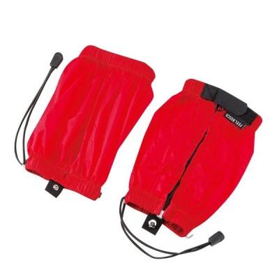 キャプテンスタッグ(CAPTAIN STAG) 登山 トレッキング用 スパッツ FEEL BOSCO ショート レッドM-9832