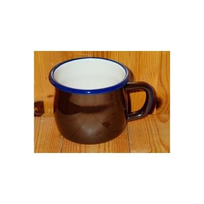 タスマン HUNTSMANS ENAMELWARE ハンツマンカラーマグ (コテージブラウン) マグカップ