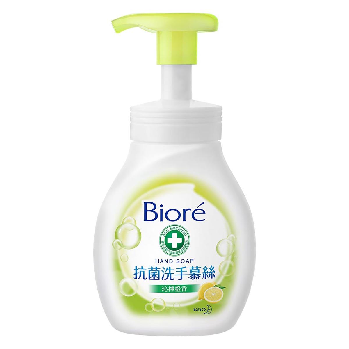 Biore蜜妮抗菌洗手慕絲沁檸橙香280ml