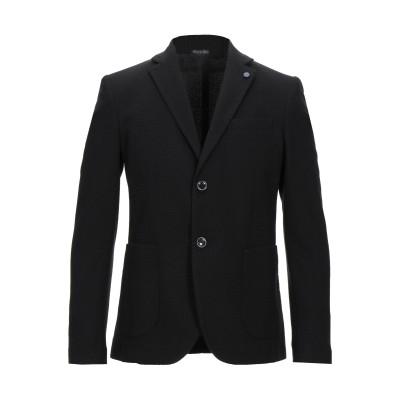 EXTE テーラードジャケット ブラック 46 ポリエステル 70% / レーヨン 28% / ポリウレタン 2% テーラードジャケット
