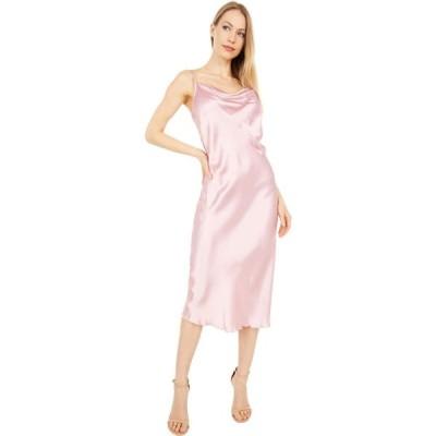 ベベ Bebe レディース ワンピース スリップドレス ワンピース・ドレス Satin Slip Dress Rose