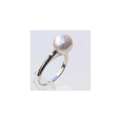 パール リング パールリング 指輪 ブライダル リング パール あこや真珠パール PT900プラチナリング ダイヤモンド 冠婚葬祭 普段使い