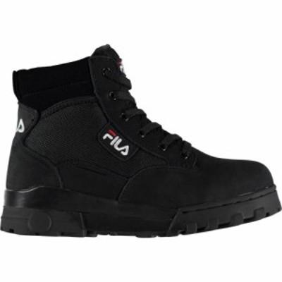フィラ Fila レディース ブーツ シューズ・靴 Grunge Mid Boots Black