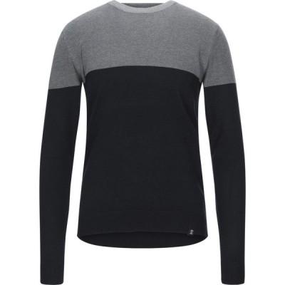 リサイクルアートワールド RECYCLED ART WORLD メンズ ニット・セーター トップス Sweater Dark blue