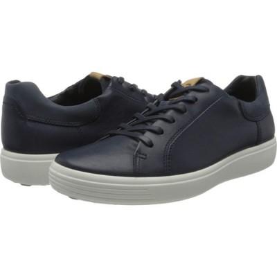 エコー ECCO メンズ スニーカー シューズ・靴 Soft 7 Street Sneaker Marine/Marine/Navy