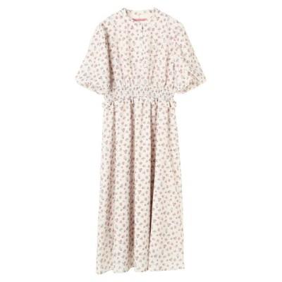 【メゾンドフルール】 フラワープリントドレス レディース アイボリー S Maison de FLEUR