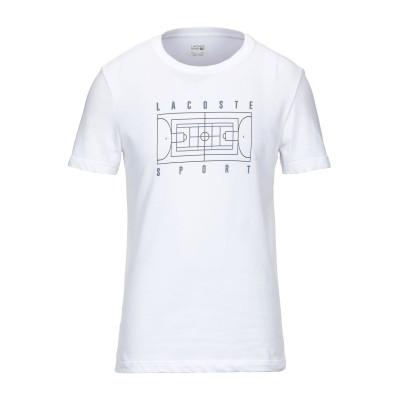 LACOSTE SPORT T シャツ ホワイト 4 コットン 65% / ポリエステル 35% T シャツ