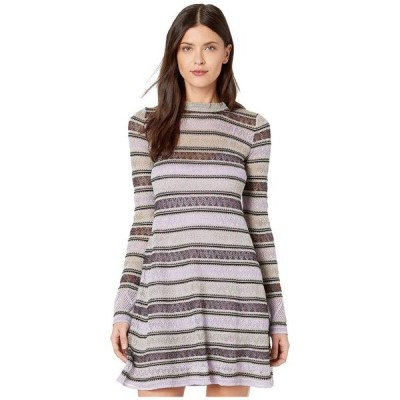 エム ミッソーニ レディース ワンピース トップス Lace Lurex Long Sleeve Dress