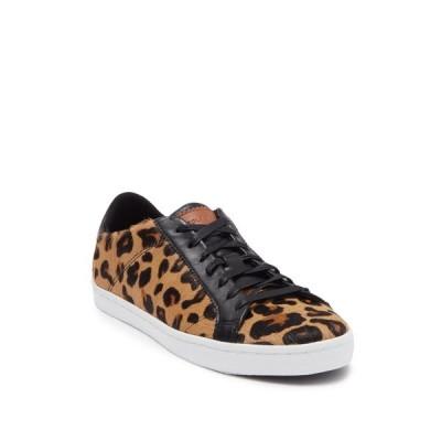 コールハーン レディース スニーカー シューズ Margo Leopard Calf Hair Lace-Up Sneaker MD LPRD PR