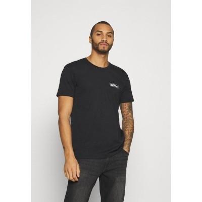 ブラッドブラザー Tシャツ メンズ トップス UNISEX RUSHY TEE - Print T-shirt - black
