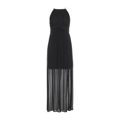 カオス KAOS ロングワンピース&ドレス ブラック 40 ポリエステル 100% ロングワンピース&ドレス