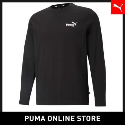 プーマ メンズ Tシャツ PUMA ESS NO.1 ロゴ 長袖 Tシャツ