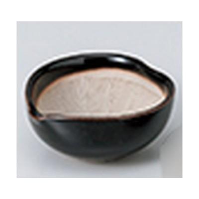 珍味 和食器 / 天目花びらスリ珍味 寸法:7.5 x 7 x 3.3cm