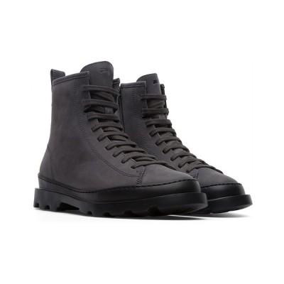 カンペール ブーツ&レインブーツ シューズ レディース Women's Brutus Medium Lace Regular Boots Gray