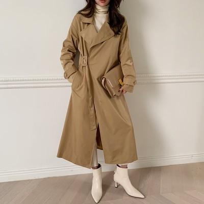 【韓国ファッションNo.1 NANING9】✨ライテトレンチコート✨大人のトレンドコーデ[送料無料]着やせ効果抜群😊大人可愛いナチュラル服♪着回しコーデ!最新トレンド勢揃い💖