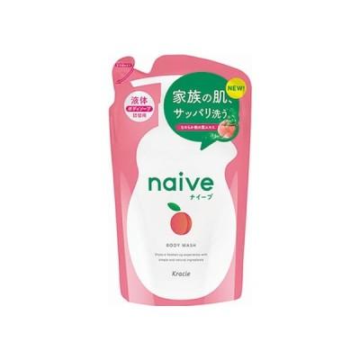 ナイーブ ボディーソープ 桃の葉エキス配合 詰替用 380ml クラシエ