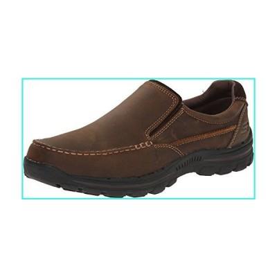 【新品】Skechers Relaxed Fit Braver - Rayland Dark Brown 12 D (M)(並行輸入品)