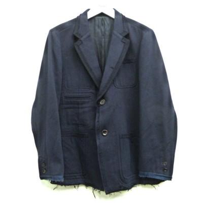【12月28日値下】UNDERCOVER 15SS テーラードジャケット ネイビー サイズ:2 (渋谷神南店)