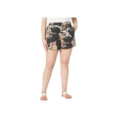 ボルコム Plus Size Frochickie Shorts レディース ショートパンツ ズボン 半ズボン Black Combo