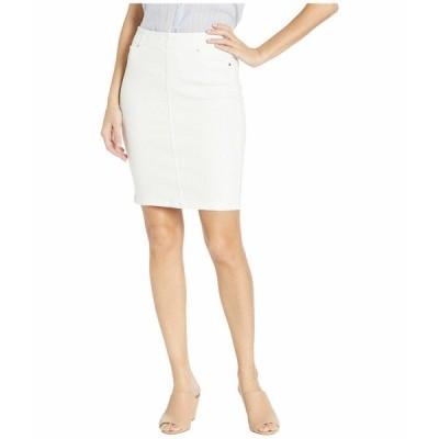 """リバプール スカート ボトムス レディース 20"""" Chloe Pull-On Pencil Skirt Bright White"""