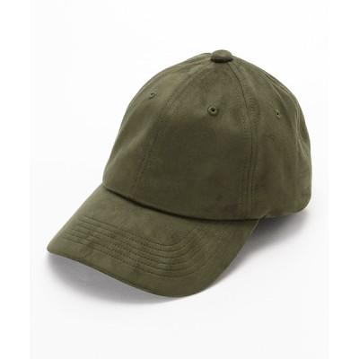 COMME CA ISM / フェイクスエード キャップ MEN 帽子 > キャップ