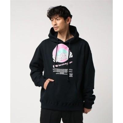 パーカー MYne マイン / Sprushade hoodie プリントスウェットパーカー / G04HD251