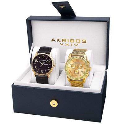 アクリボス Akribos XXIV 男性用 腕時計 メンズ ウォッチ マルチカラー AK885YG