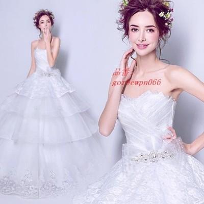 パーティードレス ウェディングドレス 二次会 舞台衣装 オフショルダー ホワイト 花嫁 司会者 結婚式 披露宴 ロングドレス
