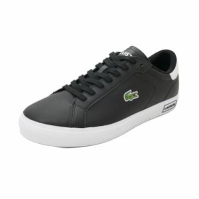 スニーカー ラコステ LACOSTE パワーコート ブラック/ホワイト SM00600-312 メンズ シューズ 靴 20Q3