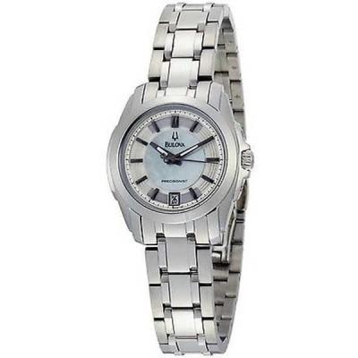 腕時計 ブローバ Bulova 96M108 レディース Precisionist Longwood ステンレス スチール シルバー ダイヤル 腕時計
