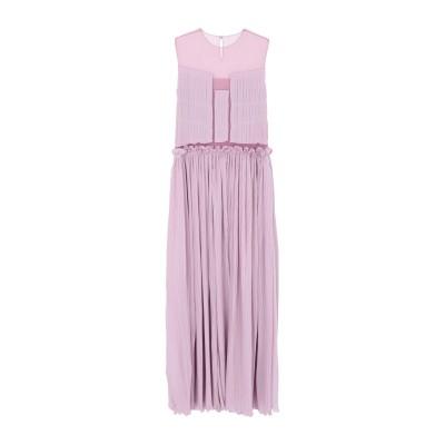 ジェニー GENNY ロングワンピース&ドレス ピンク 46 シルク 100% / ナイロン ロングワンピース&ドレス