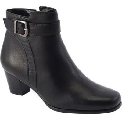 デイビッド テイト David Tate レディース ブーツ シューズ・靴 Berlin Ankle Boot Black Lambskin
