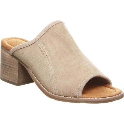 ベアパウ BEARPAW レディース サンダル・ミュール シューズ・靴 Edna Mules Sand