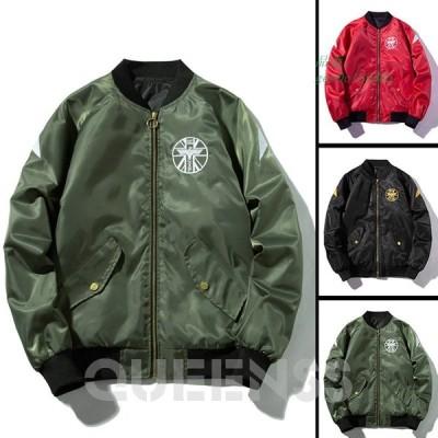 MA-1 ジャケット メンズ カジュアル ブルゾン シンプル アウトドア 防寒 シンプル 40代 コート 長袖 60代 きれいめ 30代 防風 50代