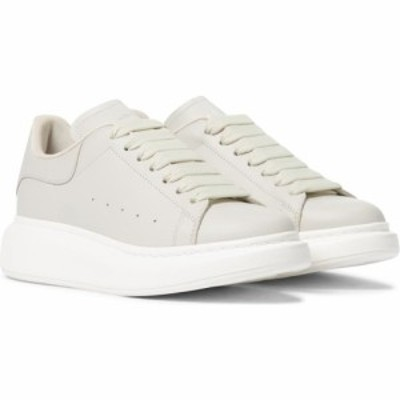 アレキサンダー マックイーン Alexander McQueen レディース スニーカー シューズ・靴 Leather sneakers Ivory