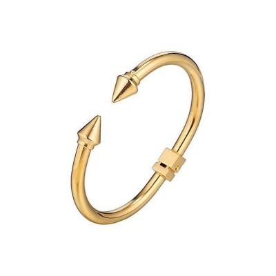 レディース アクセサリー  Eye Candy LA Erin Titanium Spike Cuff Bracelet