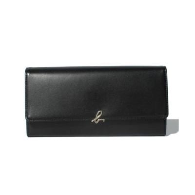 アニエスベー agnes b 財布 長財布 ロングウォレット ブラック 牛革 IW03B‐02 取り寄せ