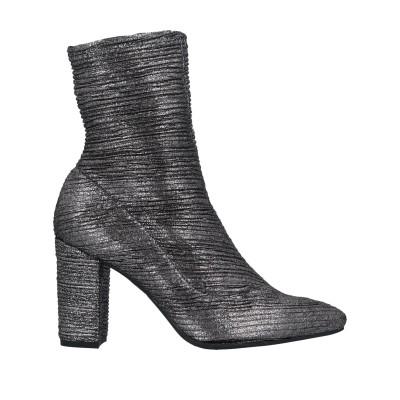 マリアン MARIAN ショートブーツ スチールグレー 36 紡績繊維 ショートブーツ
