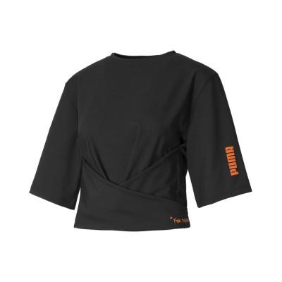 (PUMA/プーマ)PUMA x CENTRAL SAINT MARTINS ウィメンズ 半袖 Tシャツ/レディース PUMABLACK