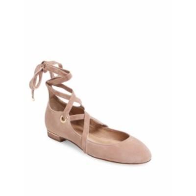 ディーブイエフ シューズ レディース フラットシューズ Dakar Suede Wrap-Around Ballet Flat